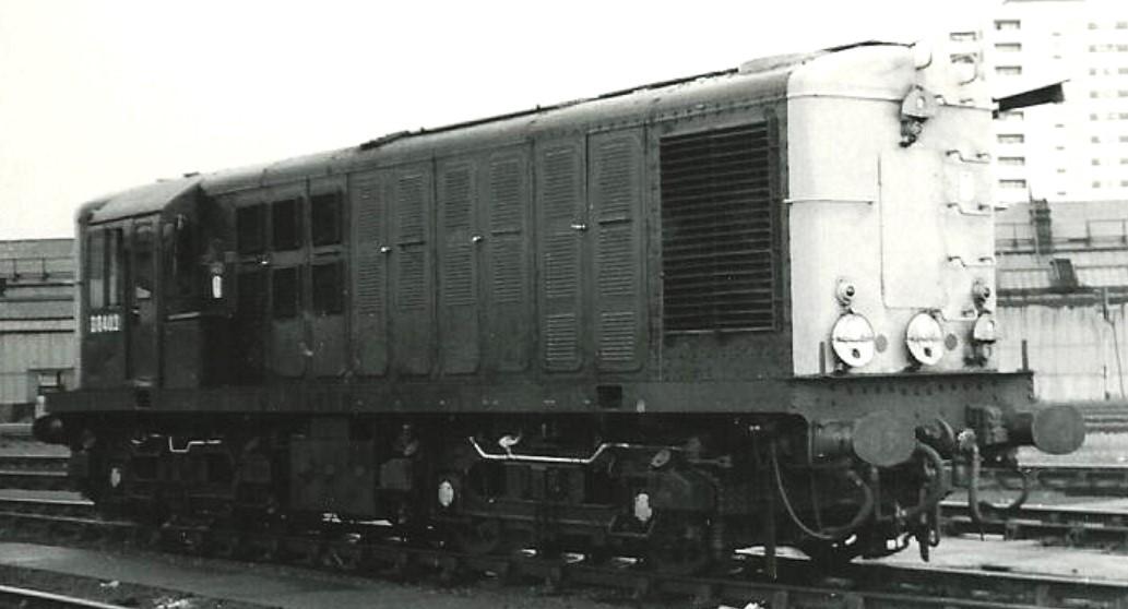 D8403 at Stratford MPD in July 1966. ©Hugh Llewelyn