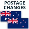 Temporary Postage Changes - Australia & New Zealand