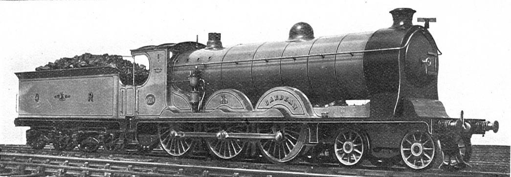 Cardean class locomotive. Official works photograph. ©Public Domain