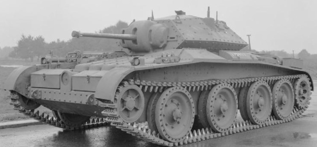 A13 Mk3 tank during WW2. ©Public Domain