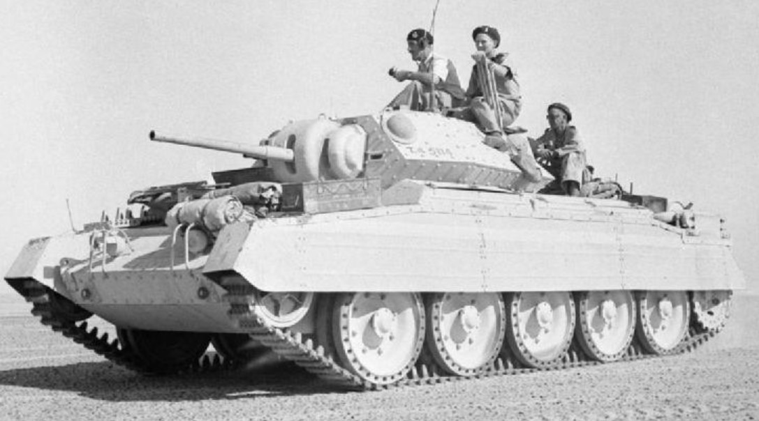 Crusader Mk2 in the Western Desert in October 1942. ©Public Domain