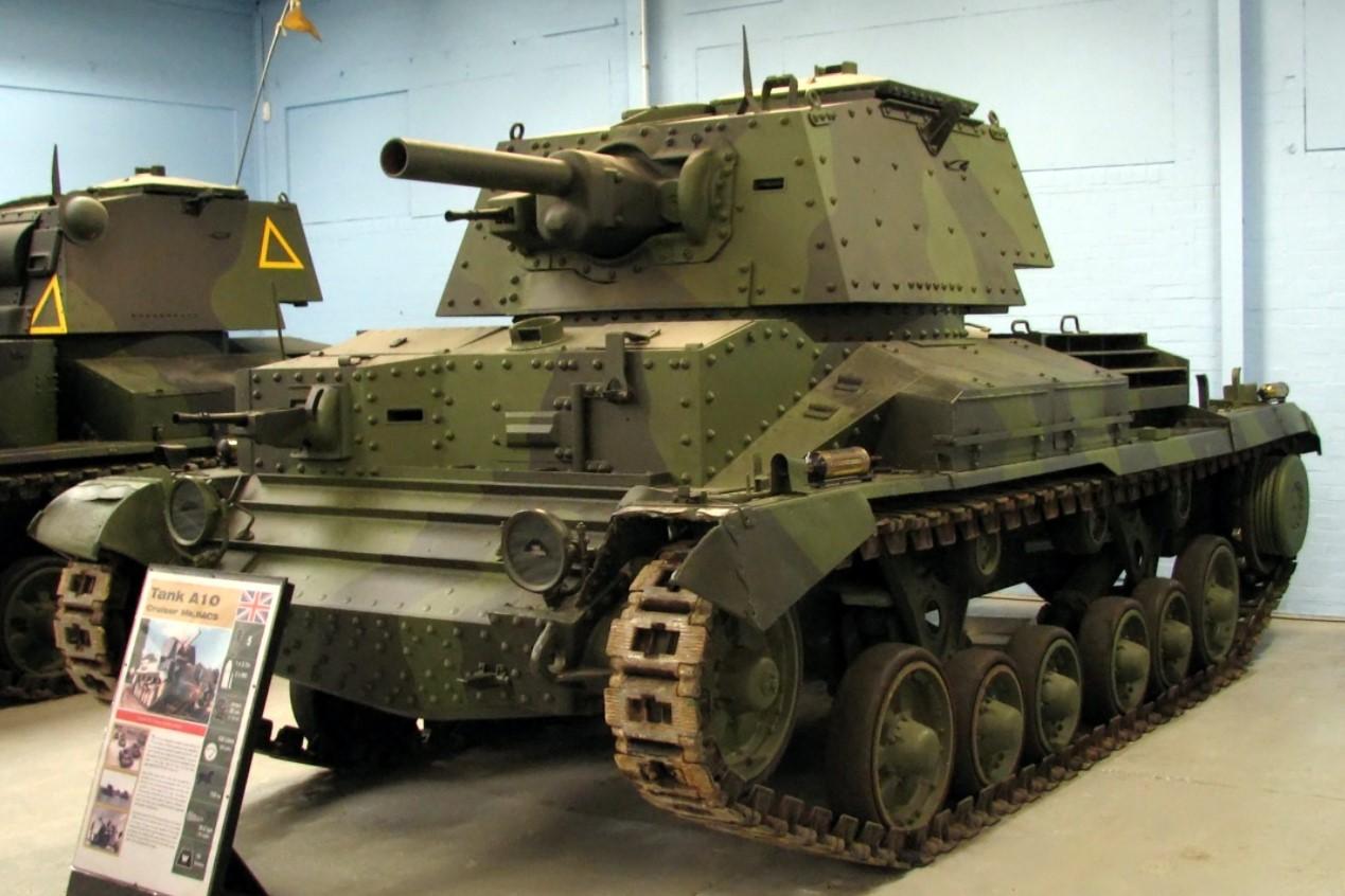 A10 at Bovington Tank Museum in January 2008. ©Hohum