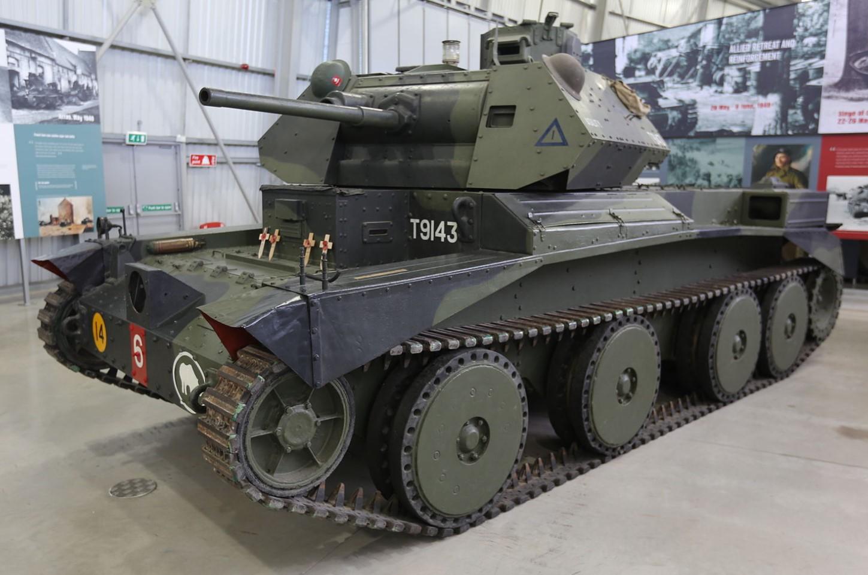 A13 in the Bovington Tank Museum in April 2014. ©Geni