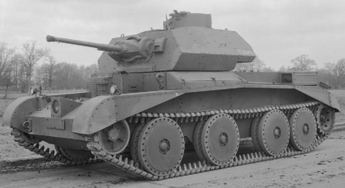 A13 Mk2 during WW2. ©Public Domain