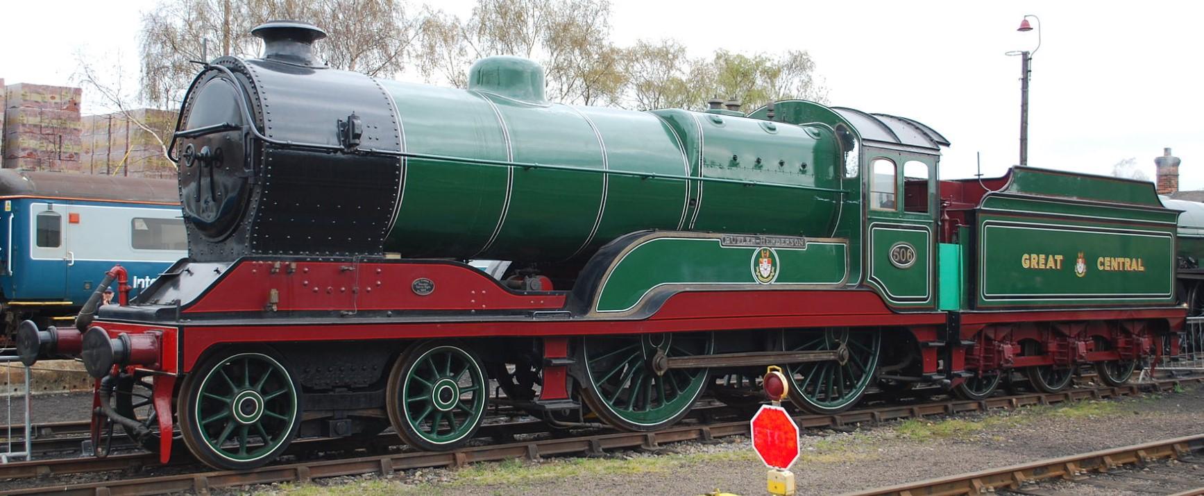 506 'Butler-Henderson' at Barrow Hill in April 2012. ©Hugh Llewelyn