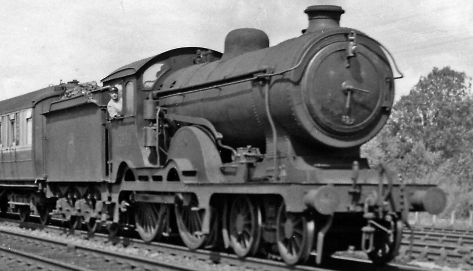 62570 at Werrington Junction in August 1959. ©Ben Brooksbank