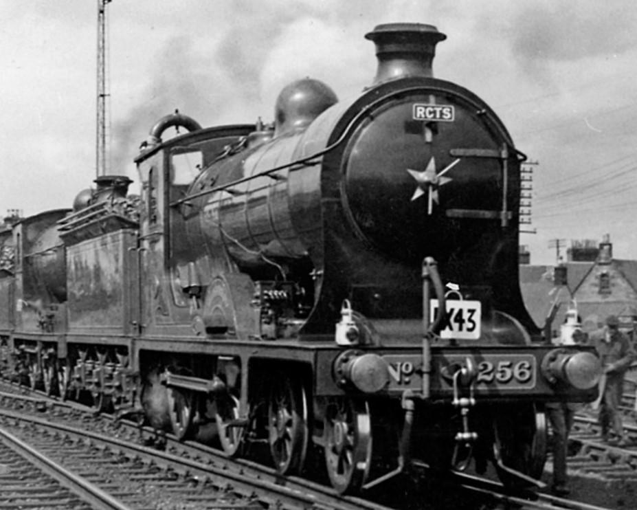 256 'Glen Douglas' at St Boswells in July 1961. ©Ben Brooksbank