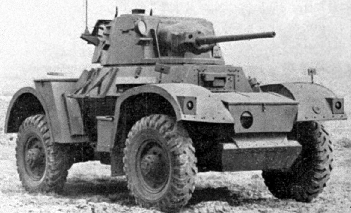 Mk2 car during WW2. ©Public Domain