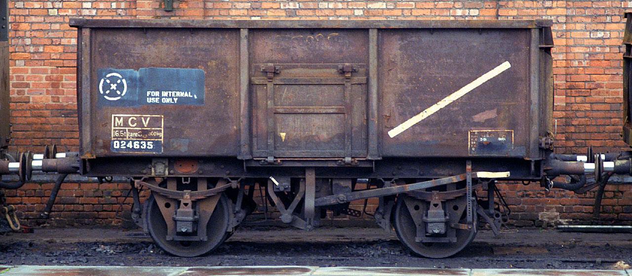 MCV 024635 at Duddeston in May 1985. ©Steve Jones