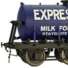 Dapol O Gauge 6-Wheel Milk Tank Wagons - Available Now