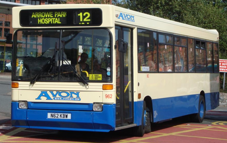 Dennis Dart/ Plaxton Pointer - Avon Buses 962 at Birkenhead Bus Station in September 2009. ©Merseysidebuses