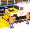 """Oxford Rail OO Gauge """"rail-going"""" Land Rovers - Available Now"""