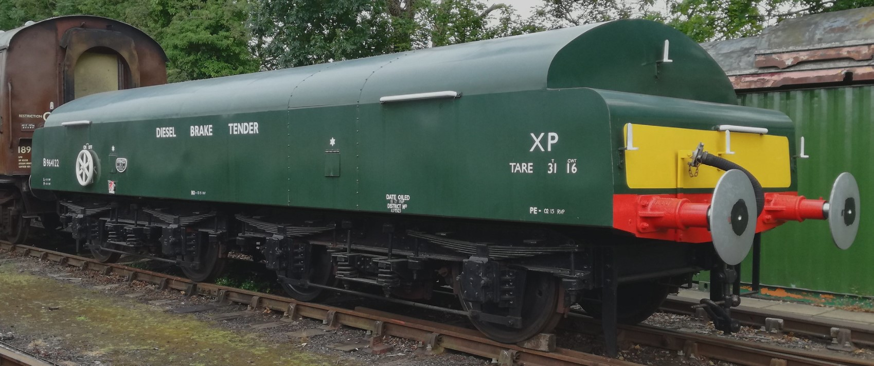 B964122 at Rothley in July 2019. ©Dave Bower