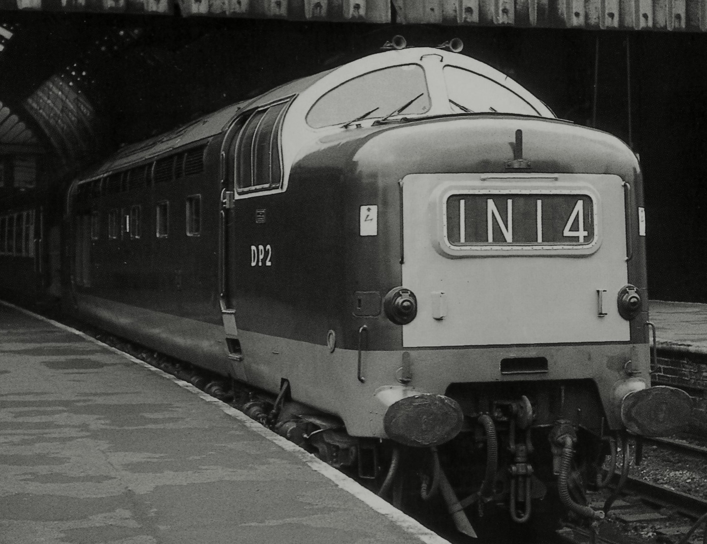 DP2 at Bradford Exchange in February 1967. ©Phil Sangwell