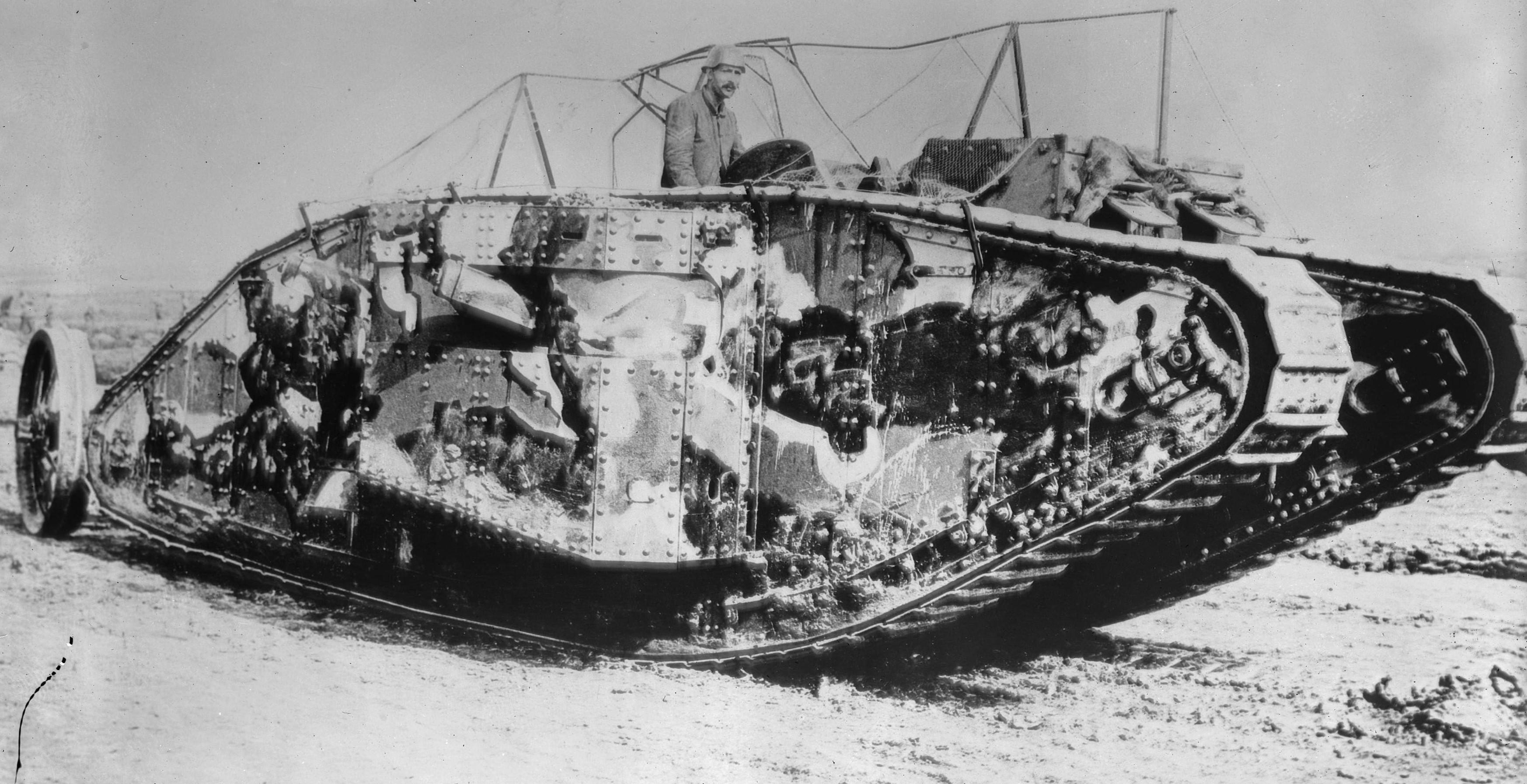 Female Tank in January 1916. ©Public Domain