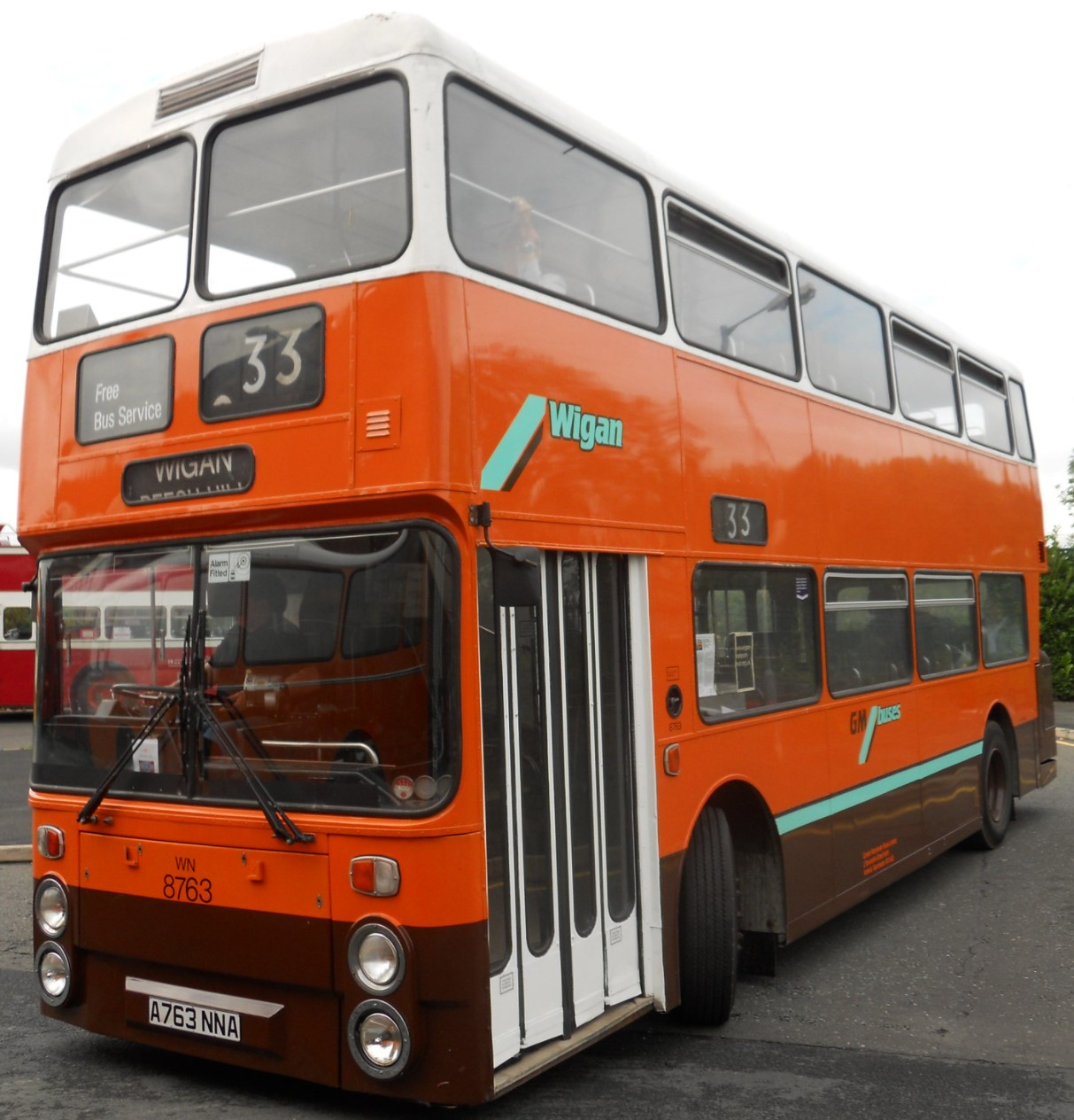 A763 NNA at Cheetham Hill, Manchester in September 2011. ©Mikey