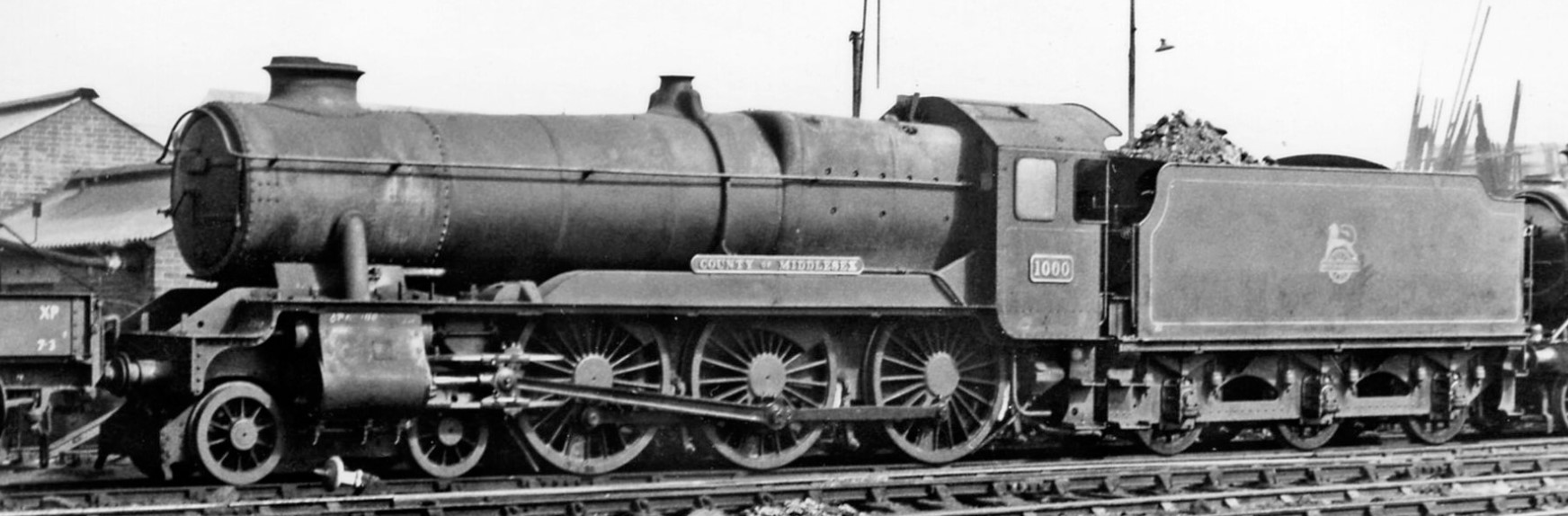1000 'County of Middlesex' at Bristol Bath Road Depot in  August 1958. ©Ben Brooksbank