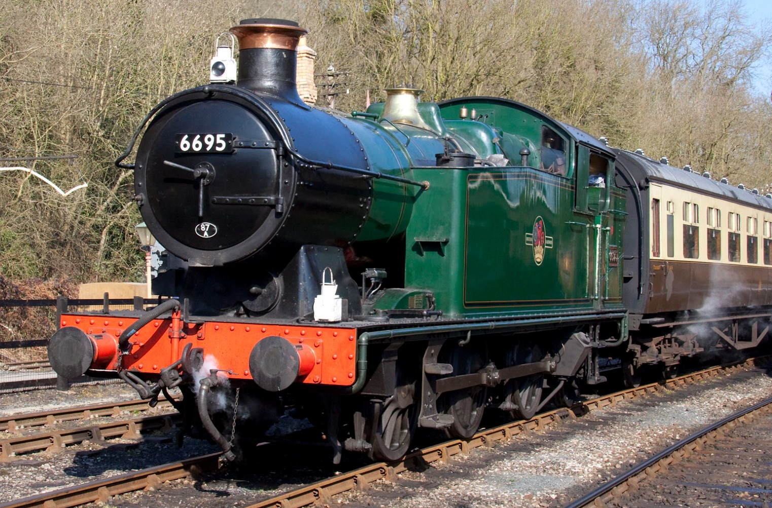 6695 at the Severn Valley Railway in March 2010.  ©Tony Hisgett