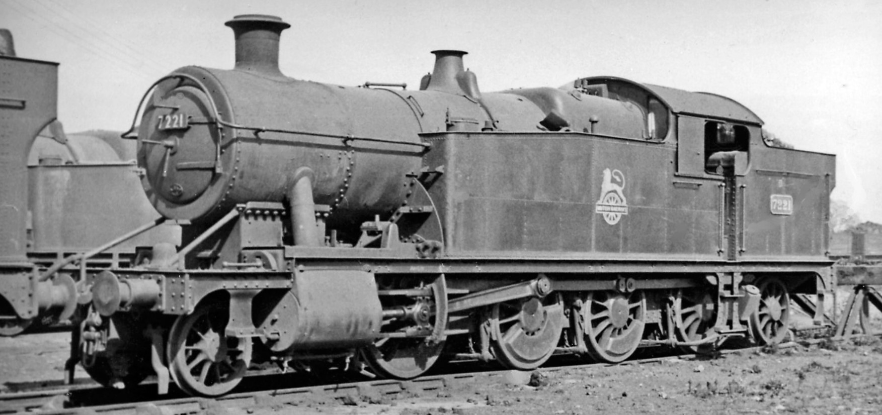 7221 at Severn Tunnel Junction Locomotive Depot in April 1951. ©Ben Brooksbank