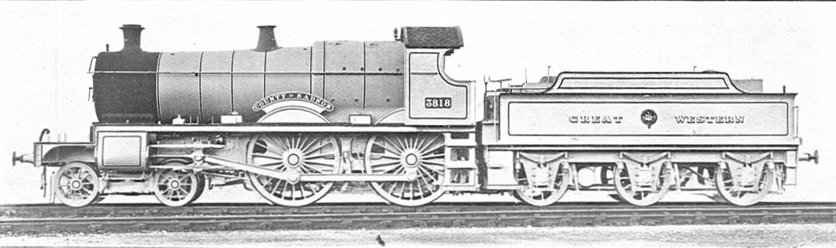 3818 'County of Radnor'. Official works photograph. ©Public Domain