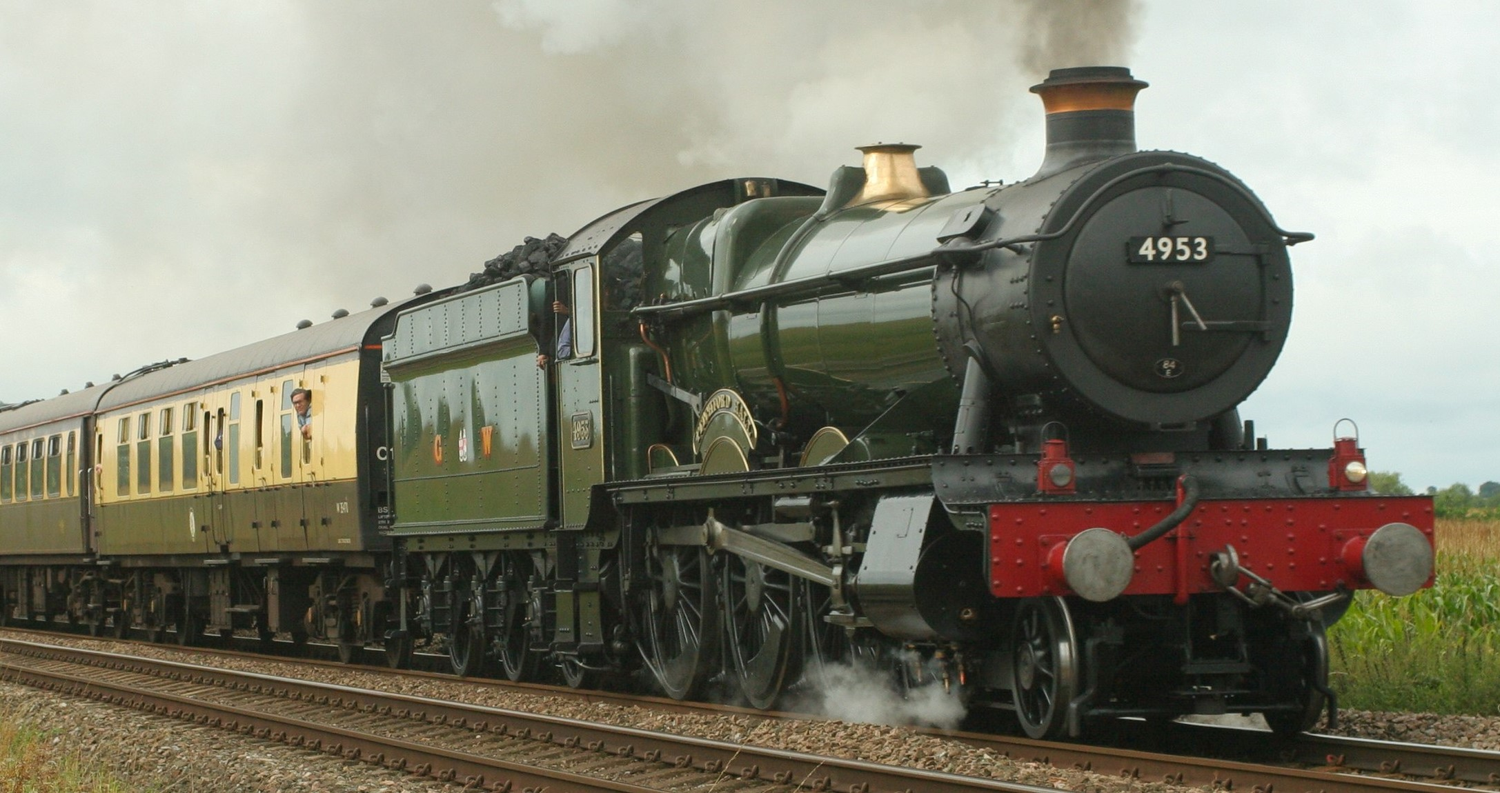 4953 'Pitchford Hall' at Rearsby in August 2009. ©Duncan Harris