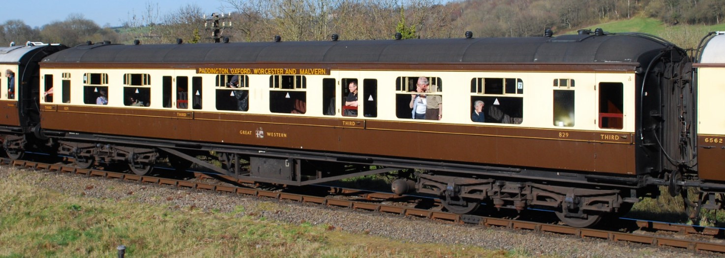 829 at Highley on the Severn Valley Railway in March 2012. ©Hugh Llewelyn