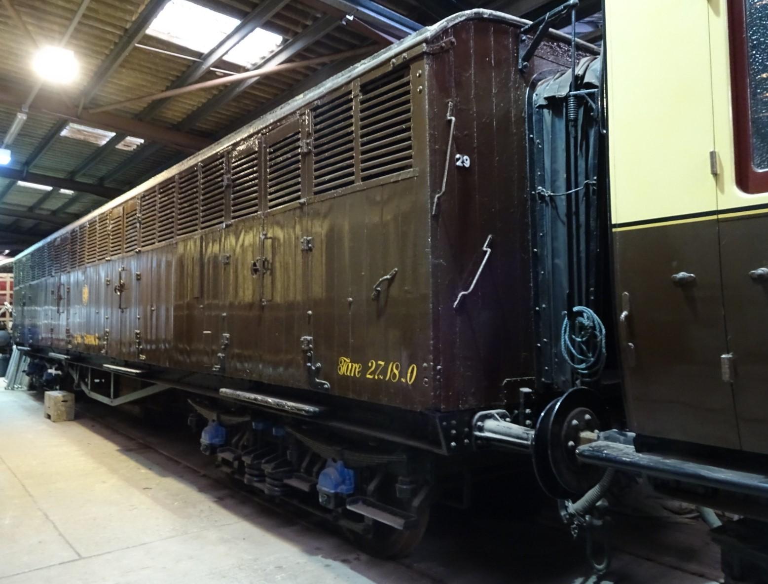 2796 at Didcot Railway Centre in November 2018. ©Hugh Llewelyn