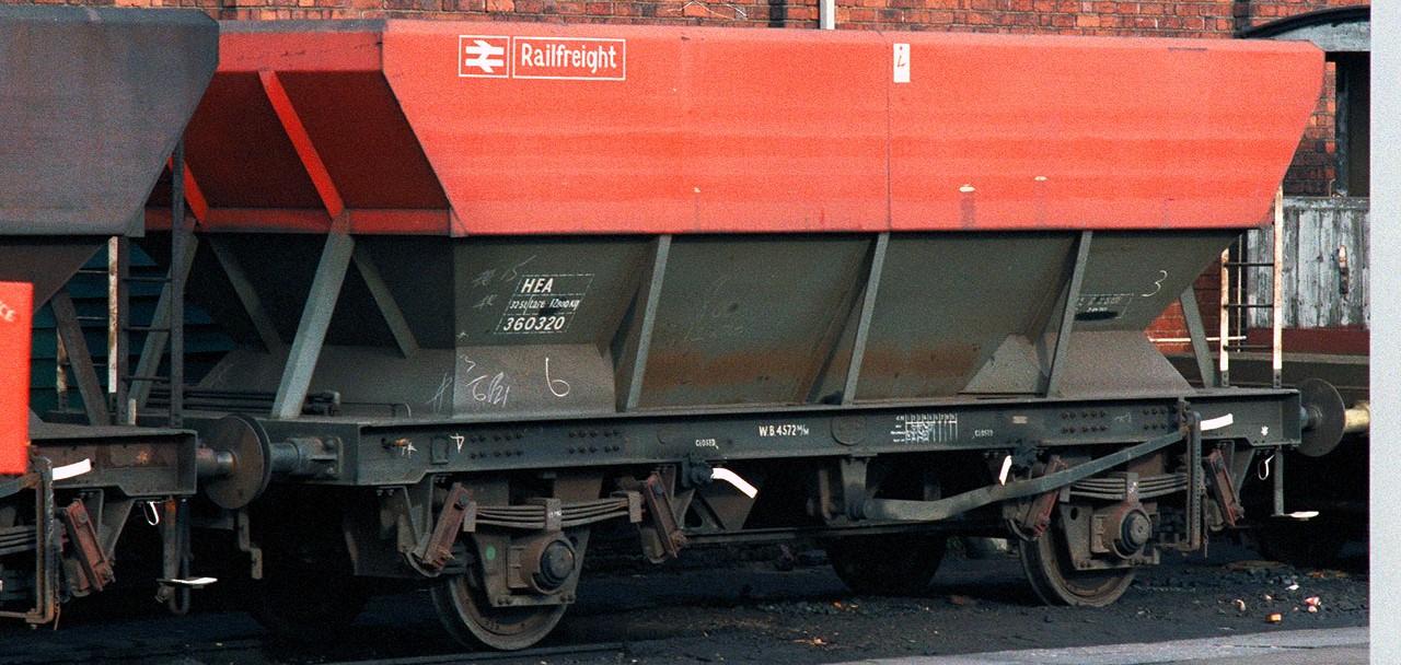 HEA 360320 at Duddeston in October 1985. ©Steve Jones