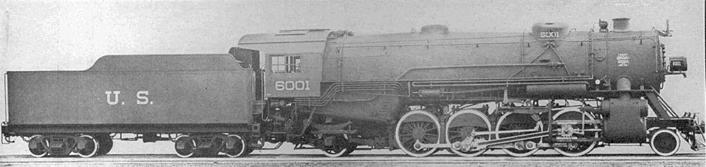 Heavy Mikado No. 6001 of the USRA. ©Public Domain