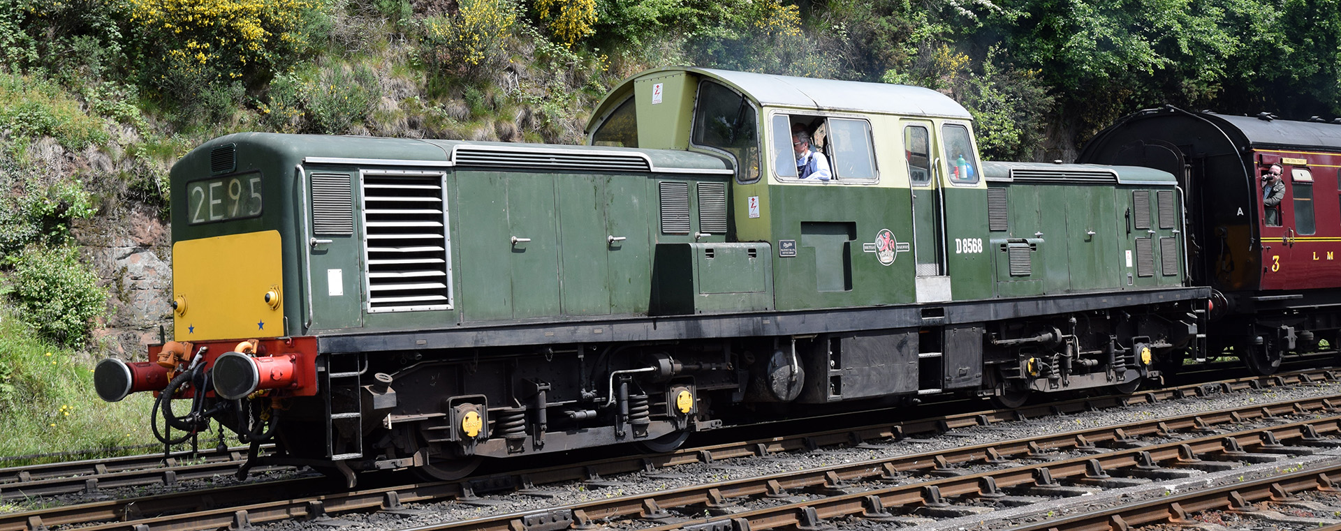D8568 near Bewdley in May 2017. ©Hugh Llewelyn