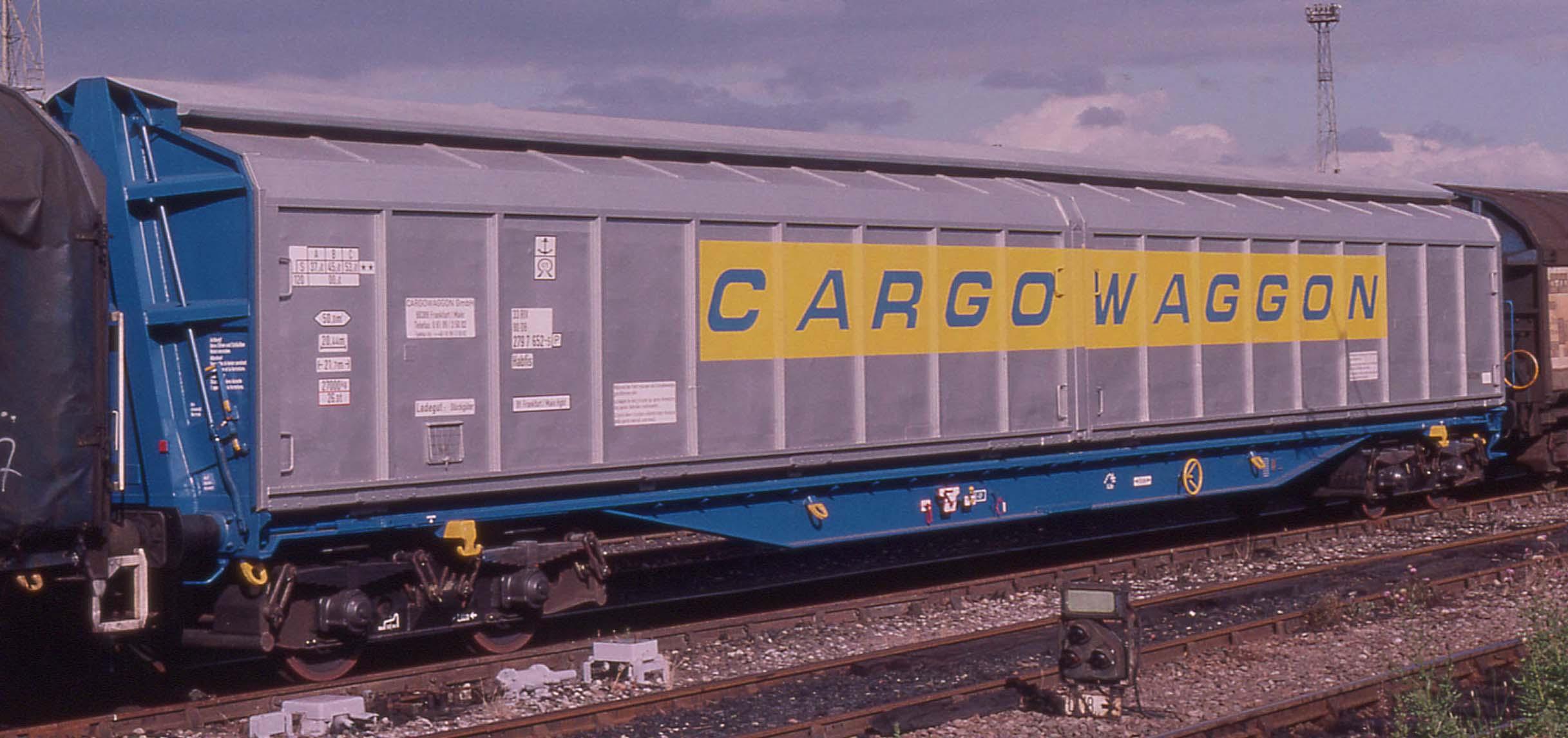 IWB Cargowaggon. © via Heljan