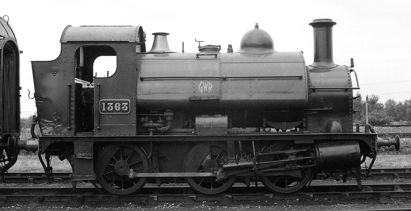 No. 1363 at Didcot Railway Centre. Date unknown. © Barry Lewis