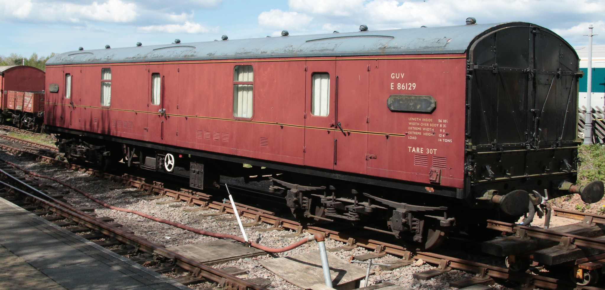GUV E86129 at the Great Central Railway North in April 2015. ©kitmasterbloke
