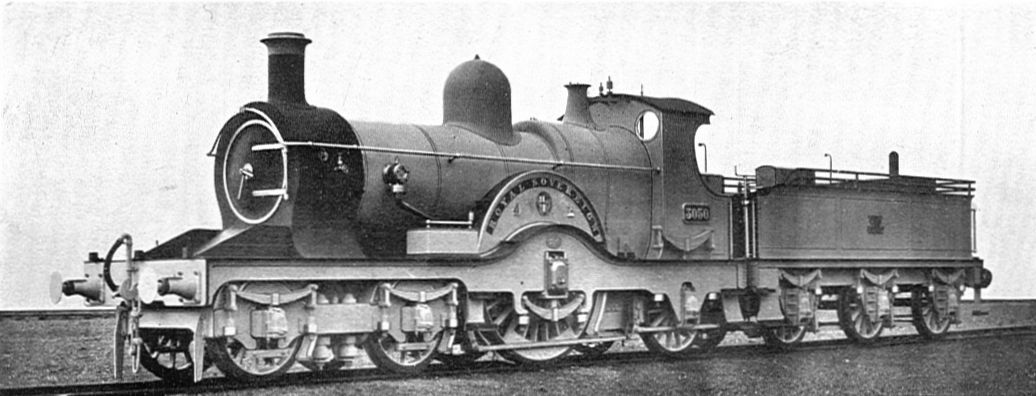 No. 3050 'Royal Sovereign' in photographic grey condition. Unknown Date. © Public Domain