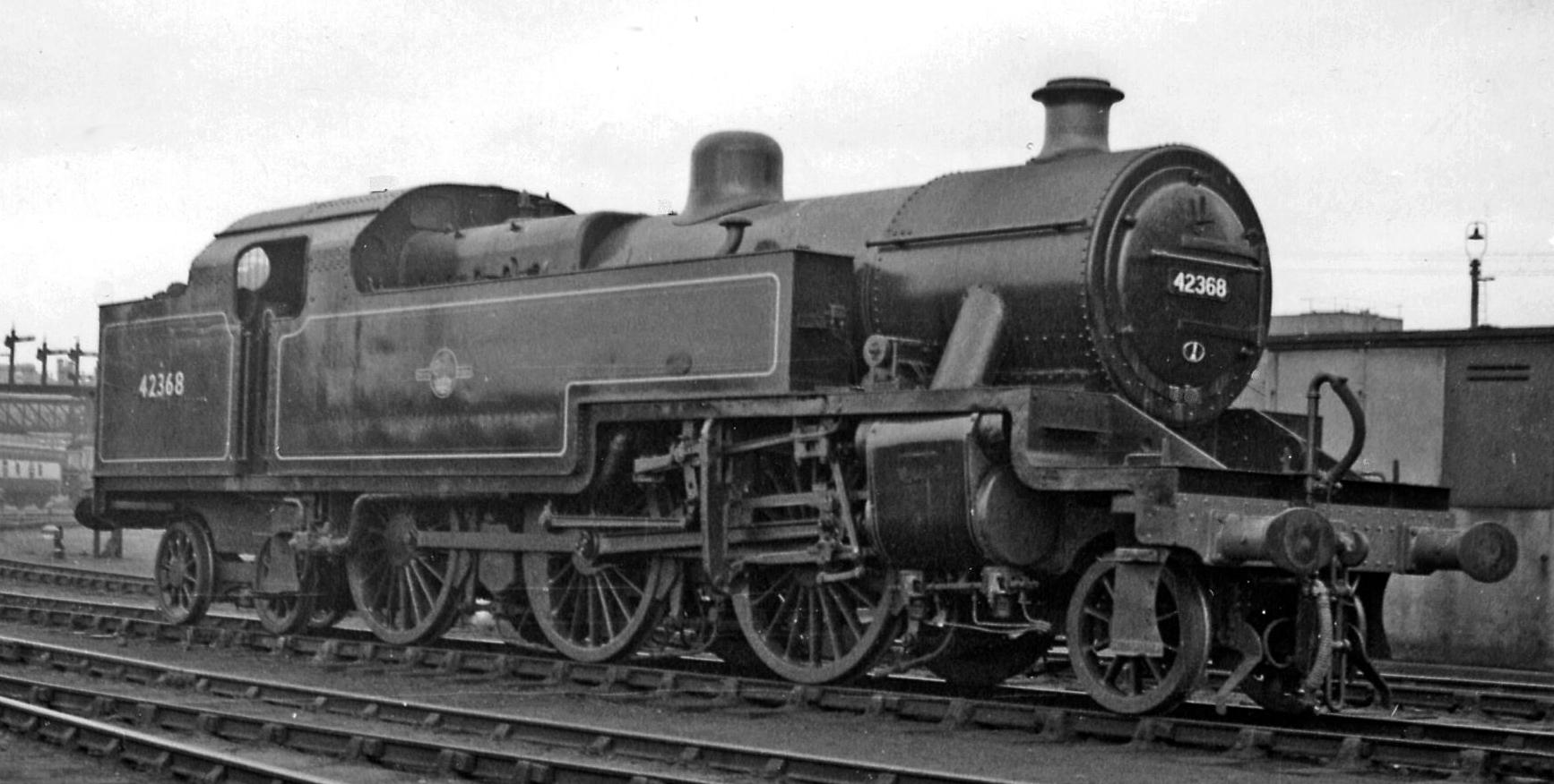 42368 at Derby Locomotive Depot in April 1960. © Ben Brooksbank