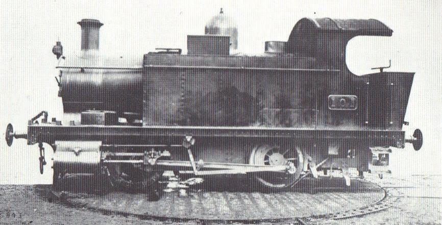GWR 'Holden' Class 101. ©Public Domain