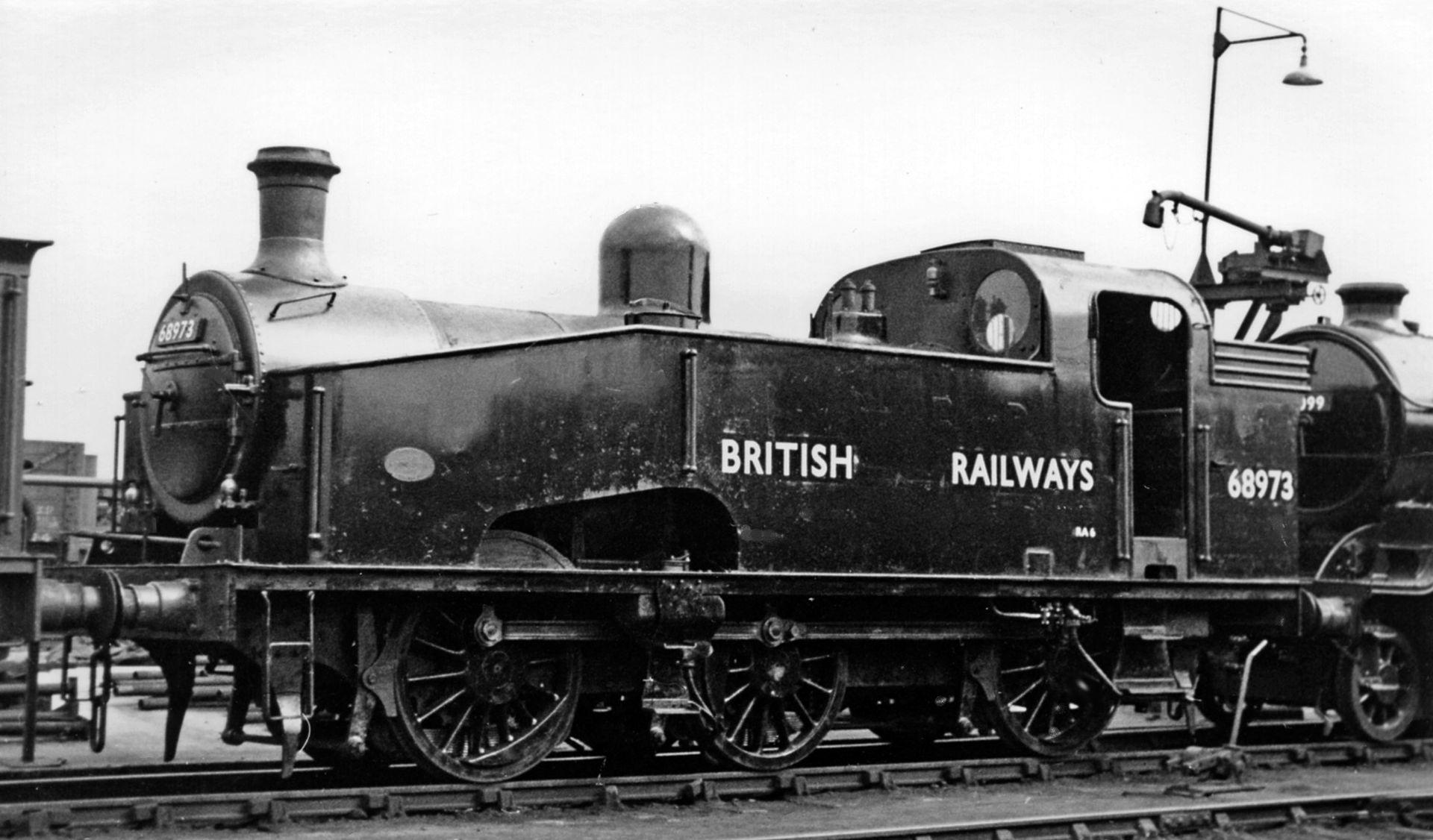 68973 at Doncaster Locomotive Depot in April 1949. © Ben Brooksbank