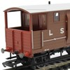 Hornby LSWR 20t/ 24t Brake Vans - Available Now