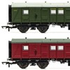 Hornby OO Gauge SR Maunsell Bogie Luggage Van - Available Now