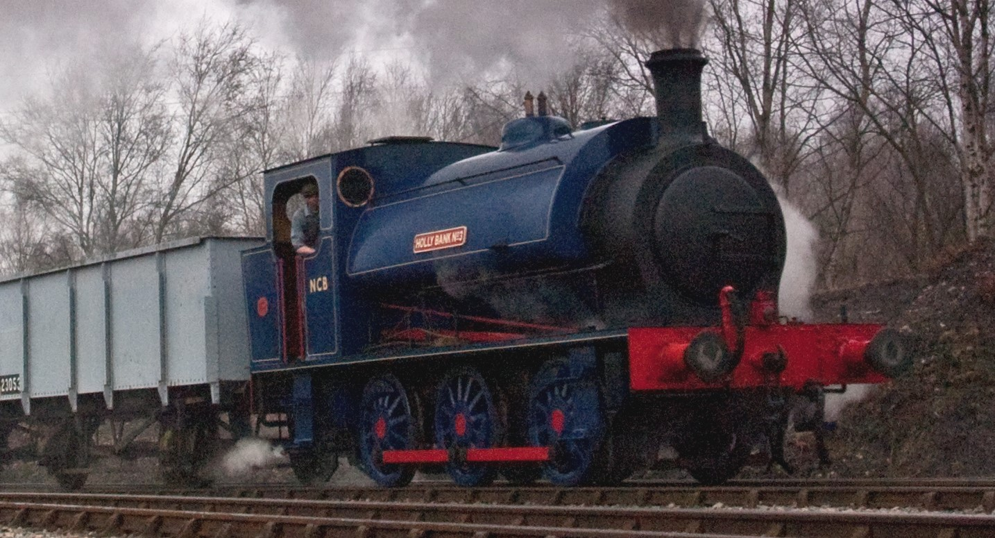 No.3 'Holly Bank' at the Chasewater Railway in March 2012. ©George Denscombe