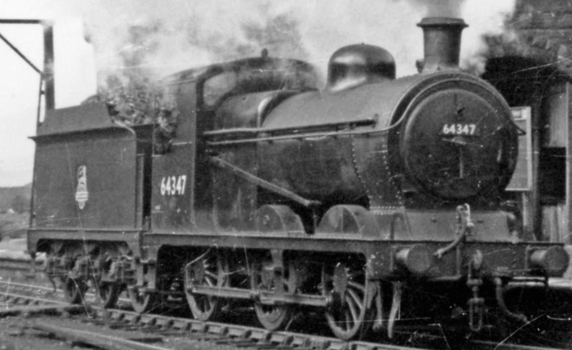 64347 at Woodhead in April 1950. ©Ben Brooksbank