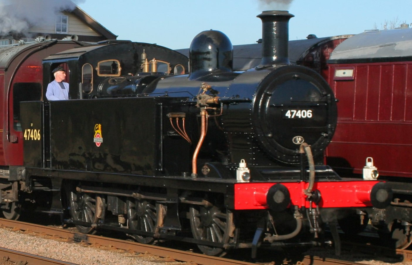 47406 at the Great Central Railway in January 2010. © Duncan Harris