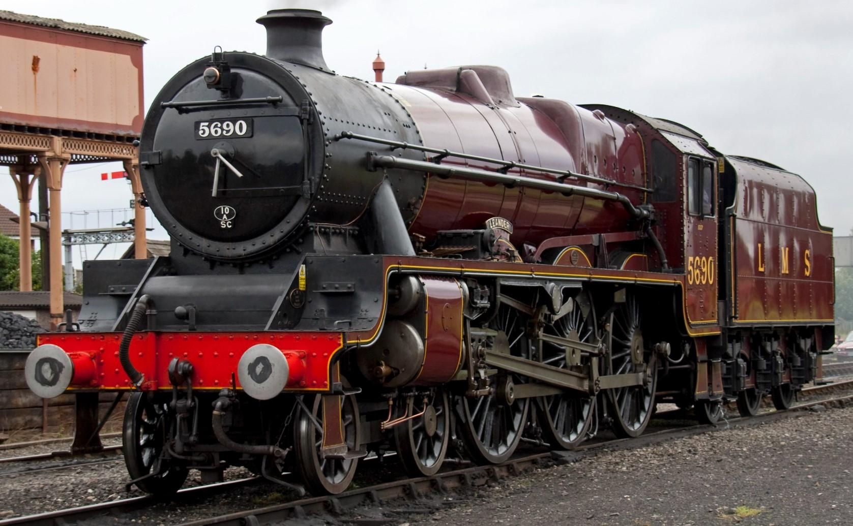 5690 'Leander' at the Severn Valley Railway in September 2010. ©Tony Hisgett