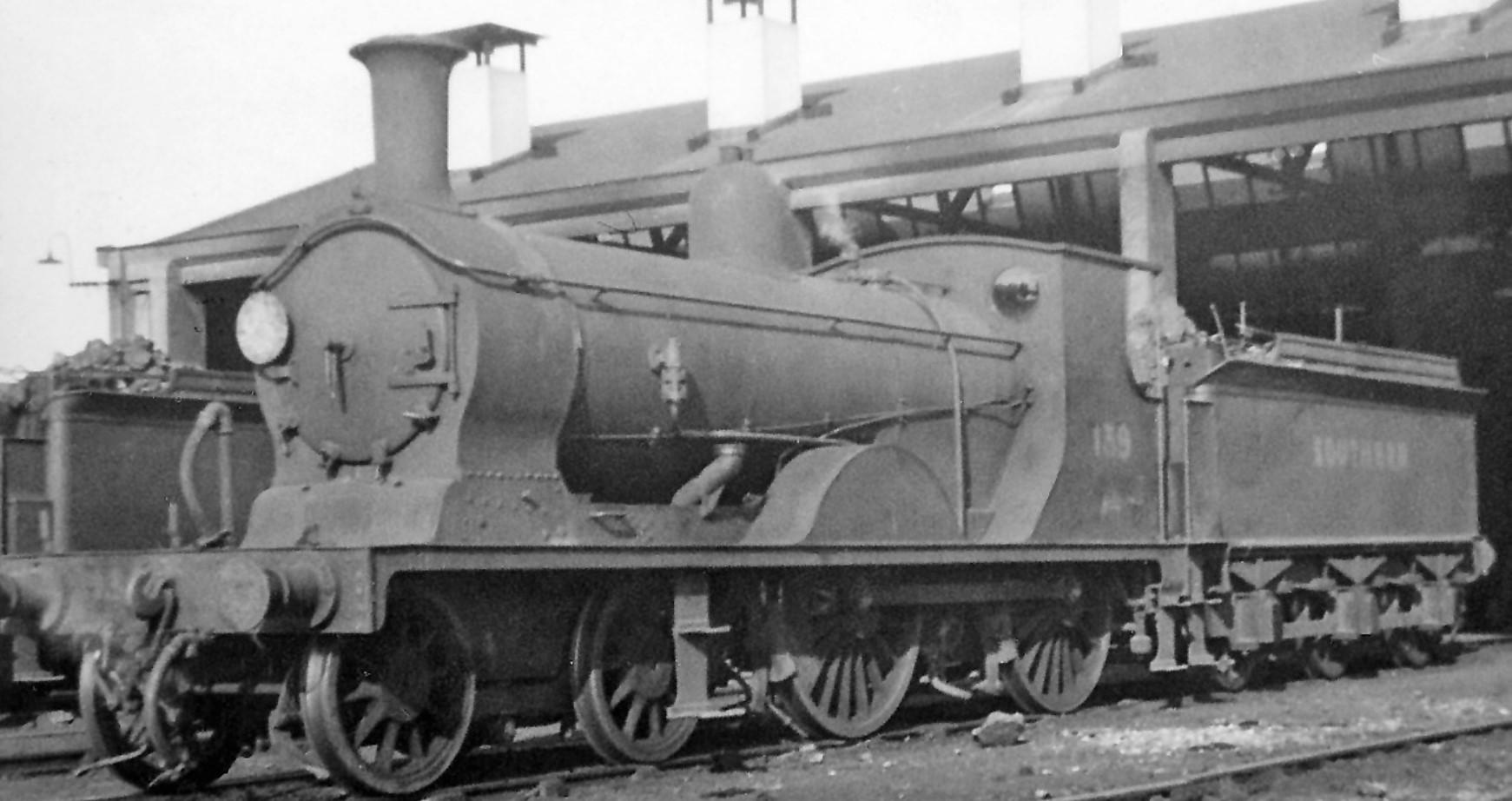 139 at Feltham Locomotive Depot in September 1947. ©Ben Brooksbank