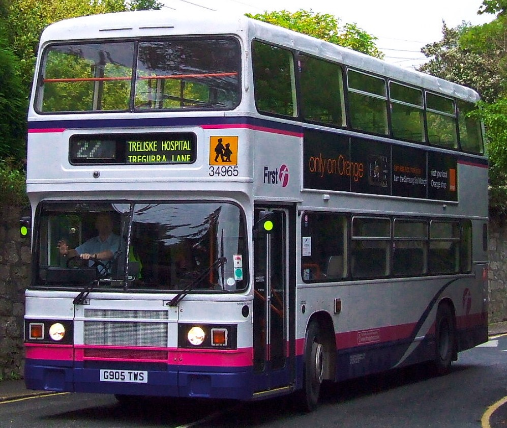 G905 TWS at St Austell in July 2008. ©Nick Rice