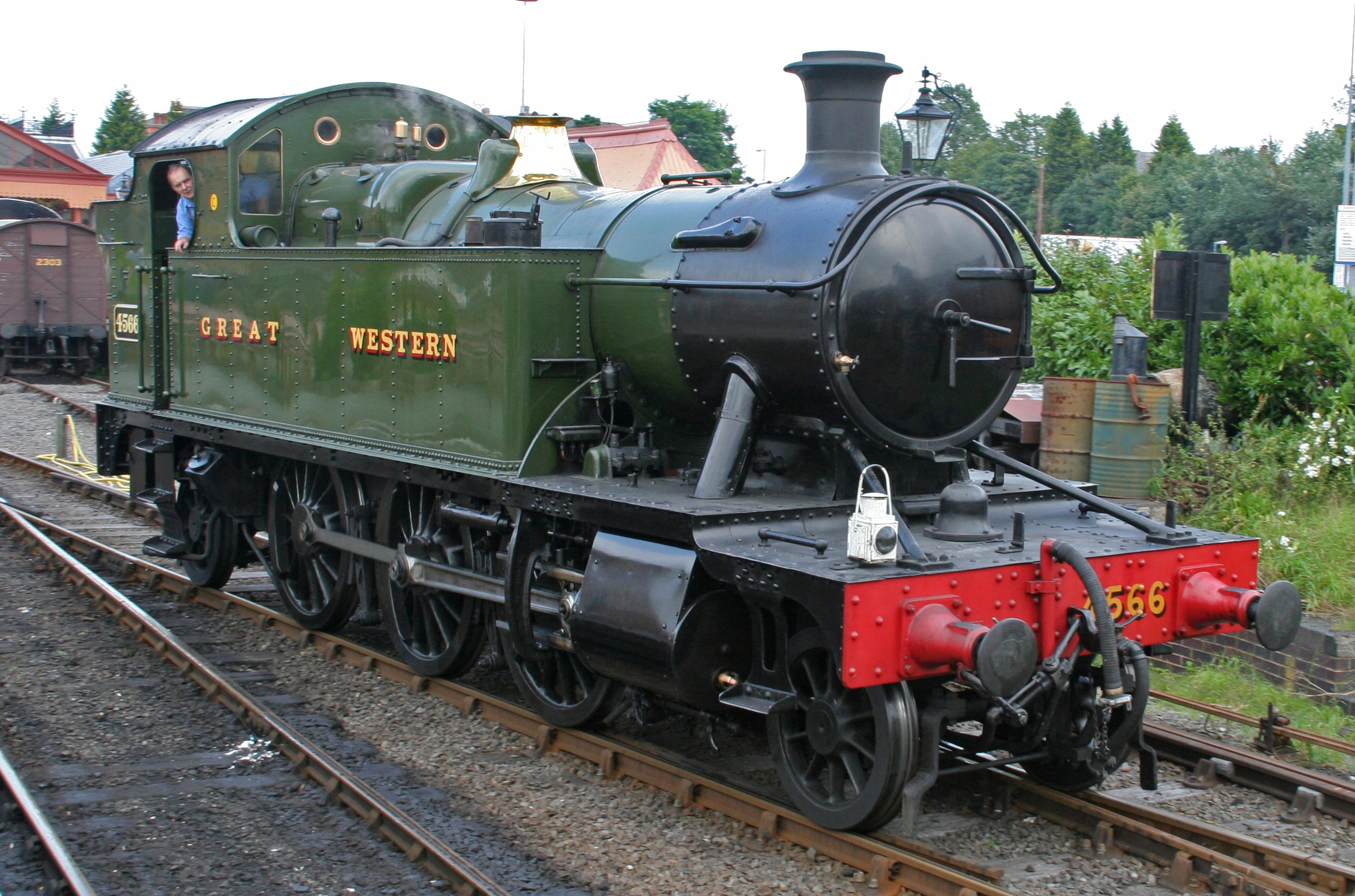 No 4566 at the Severn Valley Railway in August 2007. © Tony Hisgett