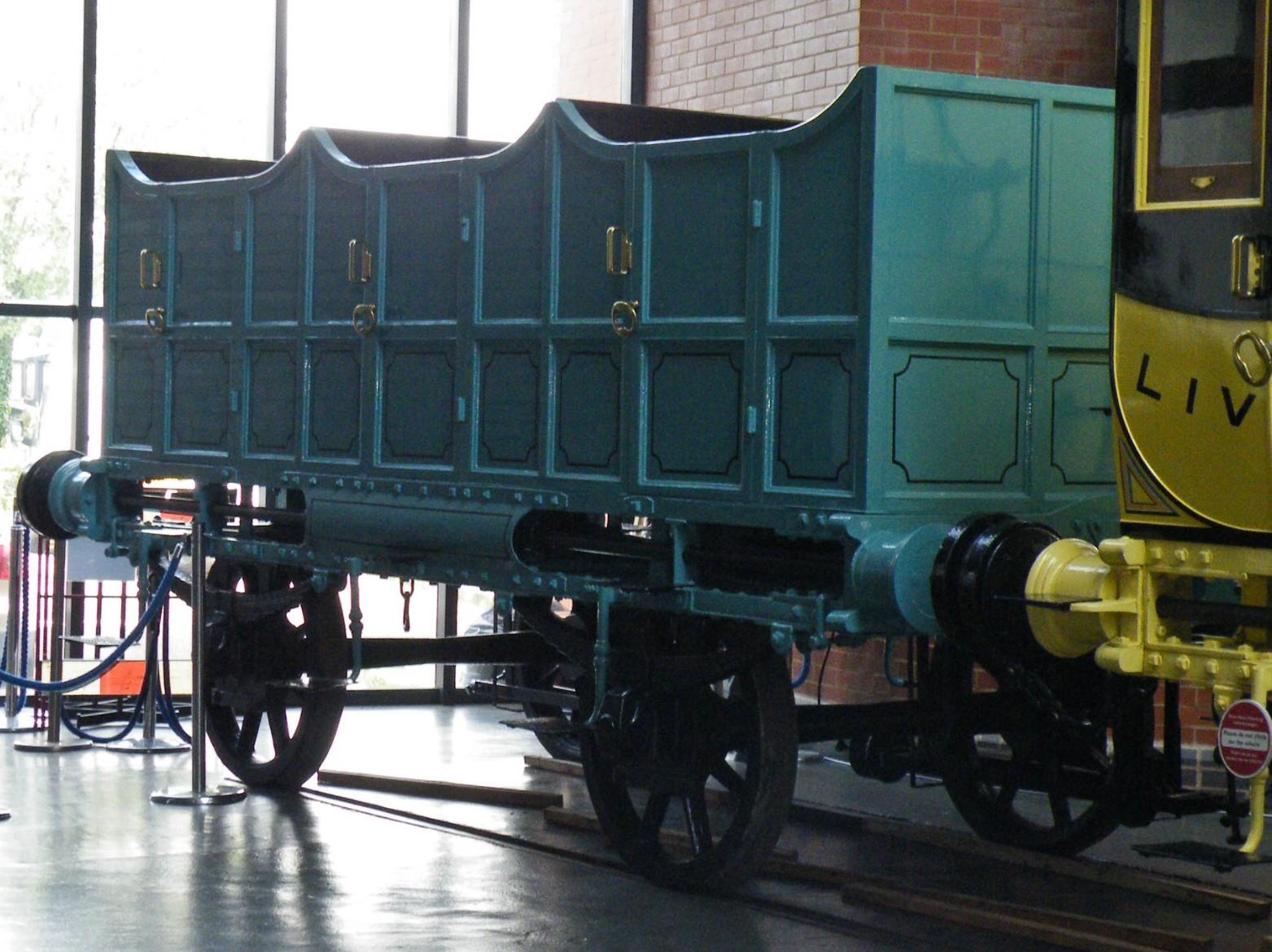 Replica open coach at the National Railway Museum in June 2012. ©Dan Adkins