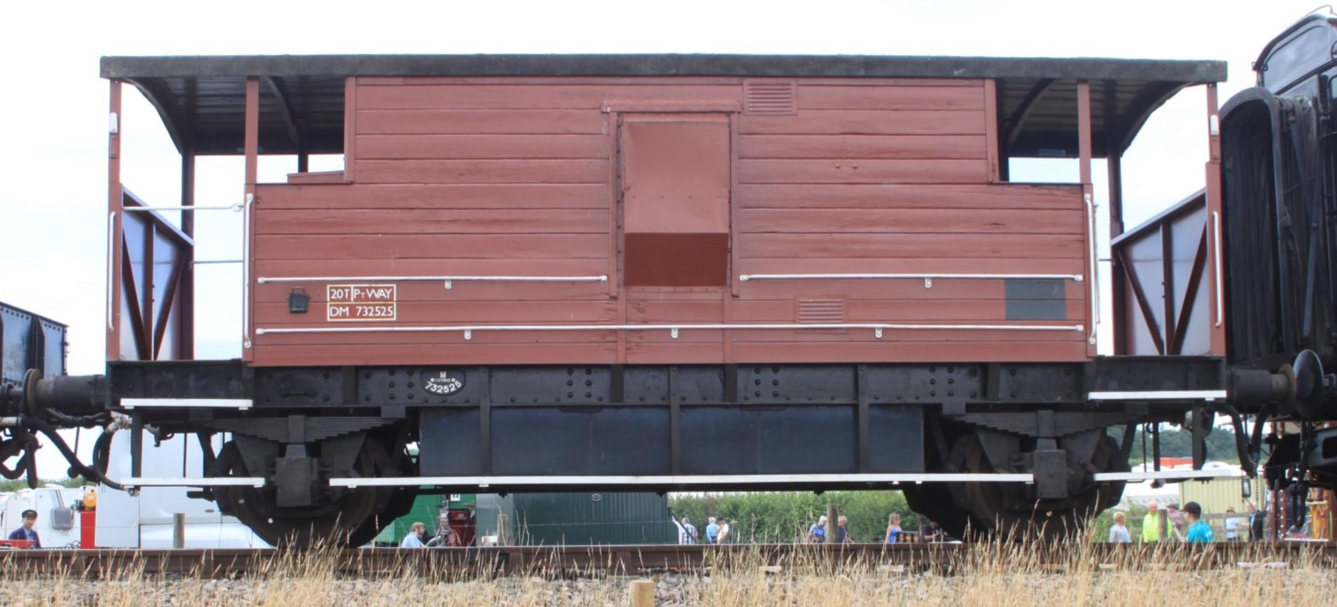 DM732535 at Norton Fitzwarren on the West Somerset Railway in 2014. © Geof Sheppard