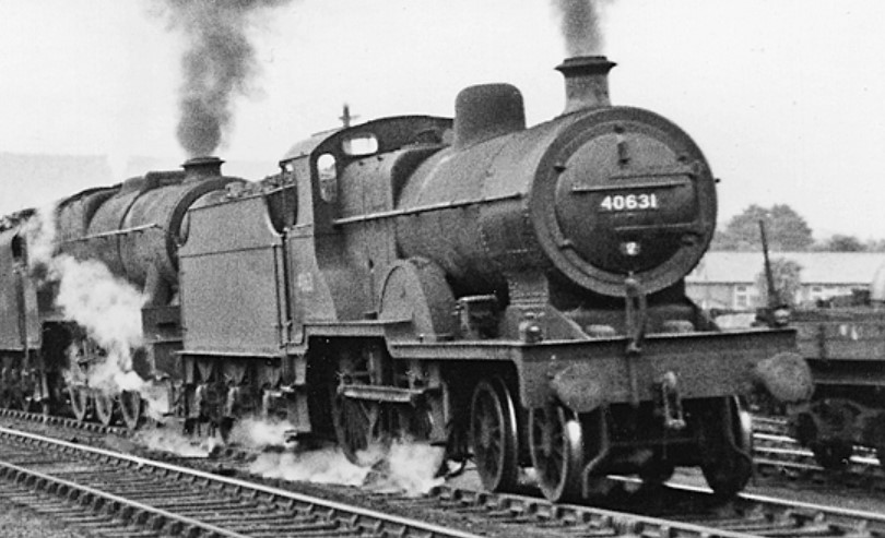 40631 at Penrith in August 1951. ©Ben Brooksbank