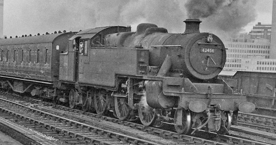 42456 at Salford in August 1963. ©Ben Brooksbank